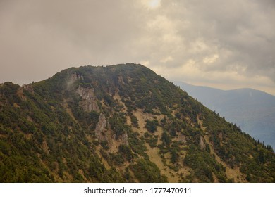 The top of the mountan Suchý vrch, Slovakia