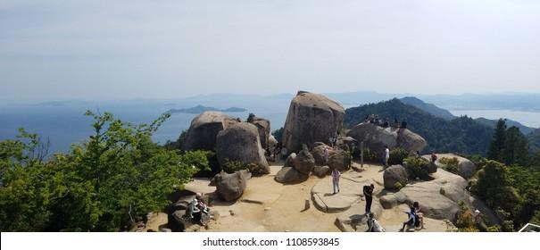 Top of Mt.Miyajima