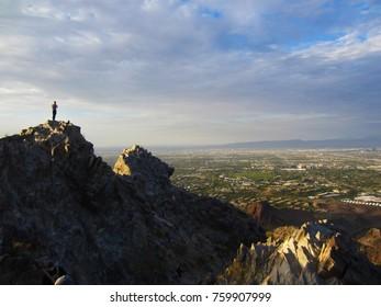 Top of Piestewa Peak