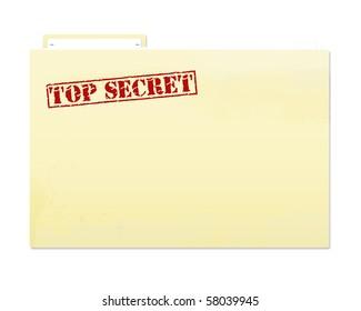 how to create a secret folder