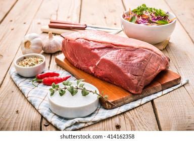 Top sirloin, Rump Steak