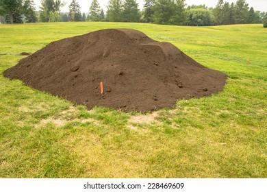 Top Soil Pile in City Park