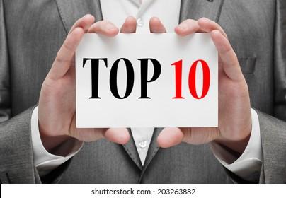 Top ten concept