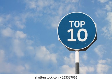Top Ten Sign