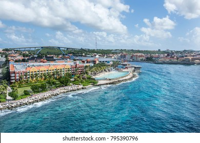 Top view of Curaçao