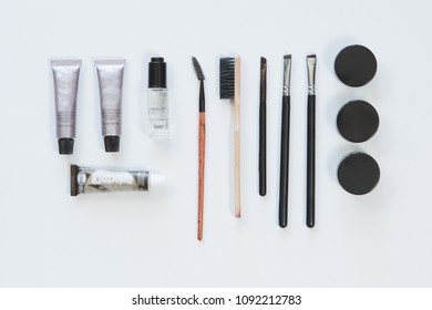 Top View Accessories Brows Care Eyebrow Stock Photo (Edit Now ...