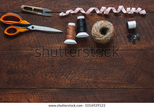 Top View Aerial Image Fashion Designer Education Stock Image 1016929522