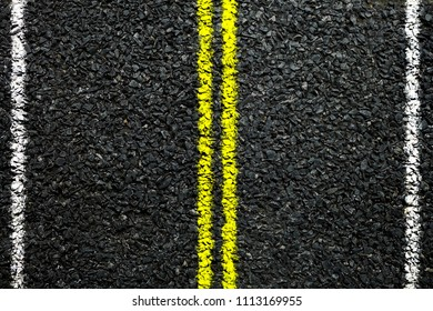 Top view of Asphalt Highway Road, Suitable for Presentation, Backdrop and Web Templates with Space for Text.