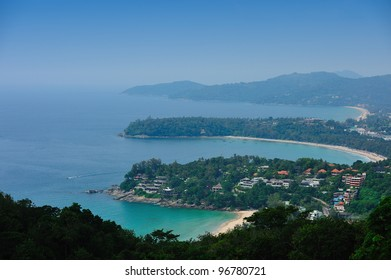 Top View from Bay in Phuket, Thailand