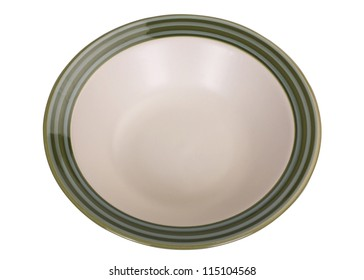 Top view of a bowl