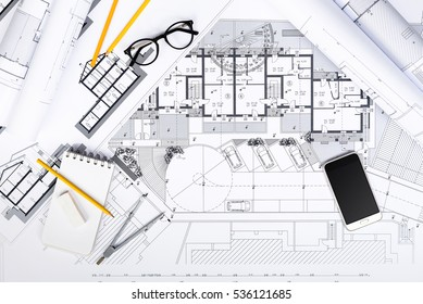 House plan with measurements images stock photos vectors shutterstock for Concept home architecture and engineering