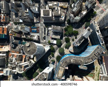 Top View of Copam Building in Sao Paulo, Brazil