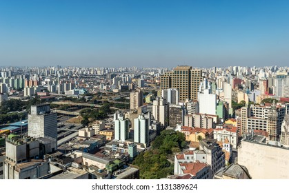 Top View downtown in Sao Paulo, SP/ Brazil