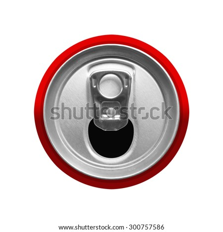 top view of drink