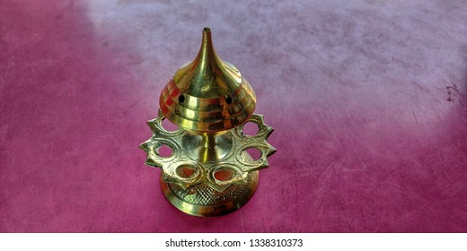 top view of a incense burner