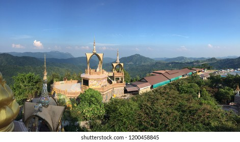 The top of the view at landmark in Thailand art of culture.
