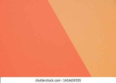 top view layout of a blank piece of paper colorful greeting card background with copy space. Pattern the concept of minimal geometry