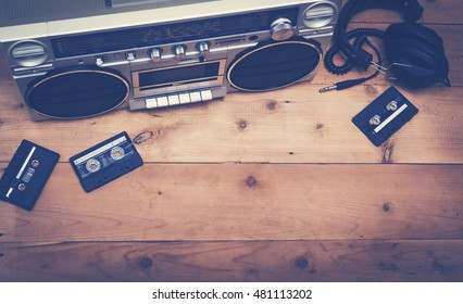 Top view music header