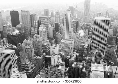 Top view, New York