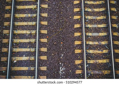 Top view of the rail path
