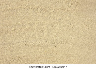 Top view of sand beach background,  day light , photo for background or banner