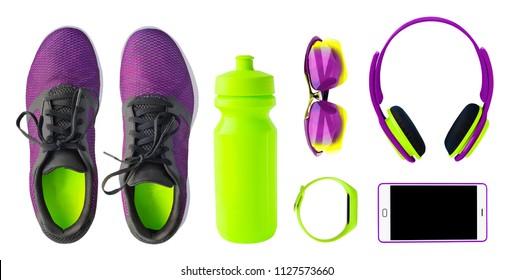 Imágenes, fotos de stock y vectores sobre Running+footwear