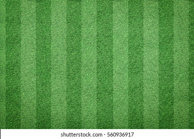 top view of stripe grass soccer field background