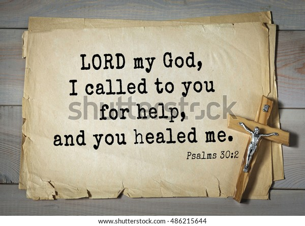 Top1000 Bible Verses Psalms Lord My Stock Photo (Edit Now