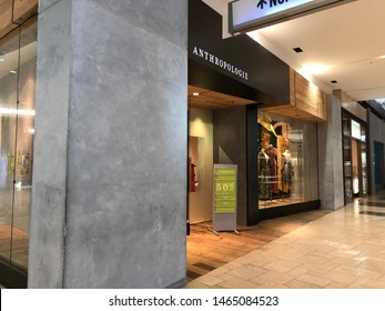 Topanga Canyon, California / United States - 2019-07-28 : Entry at the Anthropologie Store in Westfield Mall