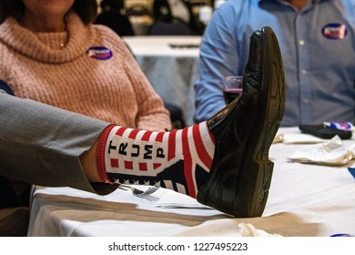 Topeka Kansas, USA, November 6, 2018