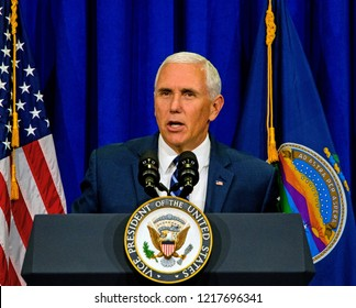 Topeka Kansas, USA, October 19, 2018 