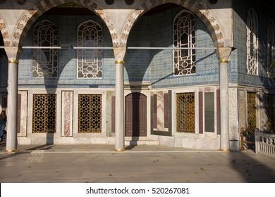 topkapi palace detail of a building