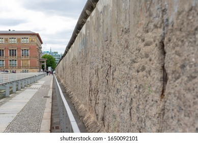 The Topography of Terror, an open air museum showing the documentation of the SS and Third Reich on the former building of the SS Reich Main Security Office on Niederkirchnerstrasse.