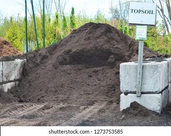 Topsoil available at the garden center