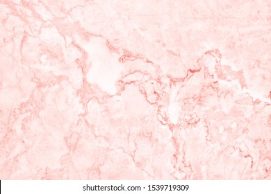 Top-view of rose gold marble texture background, natural tile stone floor with seamless glitter pattern for counter design and interior exterior decorative.