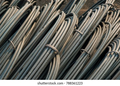 Tor Ribbed Steel rods  used for construction as reinforcement with cement in  construction and  Infrastructureraw material