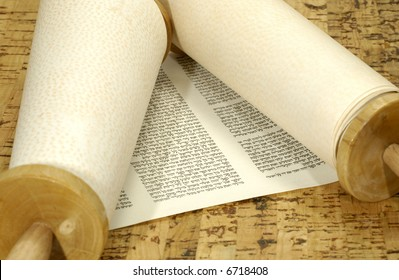 Torah Scroll - Judaica Related - Jewish