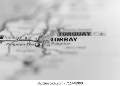 Torbay on map.