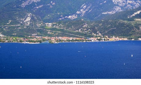 Torbole view from Garda Lake