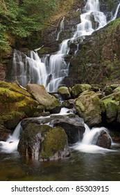 Torc waterfall in Killarney National Park - Ireland