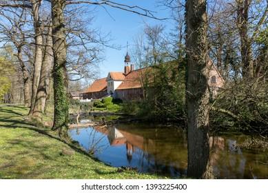 Torhaus in Gut Damp, Schleswig-Holstein