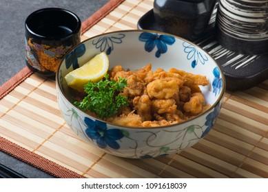 tori karaage japanese deep fried chicken