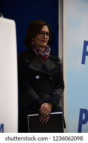 Torino, Italia - 17th November 2018 - Mariastella Gelmini, Manifestazione Forza Italia Sì TAV