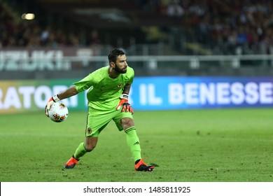 Torino - Italy. 22th August 2019. Uefa Europa League playoff first leg.  Rui Patricio of Wolverhampton Wanderers Fc.