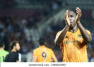 Torino - Italy. 22th August 2019. Uefa Europa League playoff first leg.  Willy Boly of Wolverhampton Wanderers Fc.