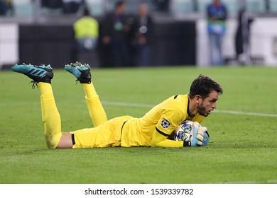 Torino, Italy. 22th October 2019 . Uefa Champions League Group D . Juventus Fc vs Fc Lokomotiv Moskva.  Guilherme  of Fc Lokomotiv Moskva.