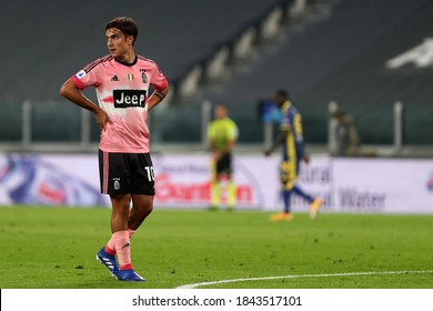 Torino, Italy. 25th October 2020. Paulo Dybala of Juventus FC during the Serie A match  between Juventus Fc and Hellas Verona Fc.
