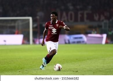 Torino, Italy. 26th September 2019.. Italian Serie A . Torino Fc vs Ac Milan. Ola Aina  of Torino FC.