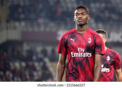Torino, Italy. 26th September 2019. Italian Serie A . Torino Fc vs Ac Milan. Rafael Leao  of Ac Milan.