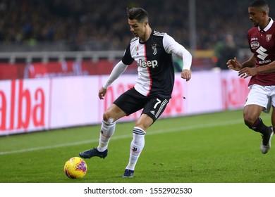 Torino. Italy. 2th November 2019. Italian Serie A. Torino Fc vs Juventus Fc. Cristiano Ronaldo of Juventus FC.